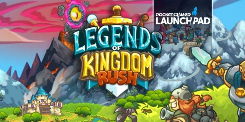 Legends of Kingdom Rush is a unique turn-based strategy game coming soon to Apple Arcade
