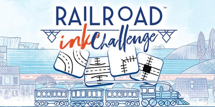 Railroad Ink Challenge is a beautiful digital adaptation of the hit tabletop game, out now for iOS and Android