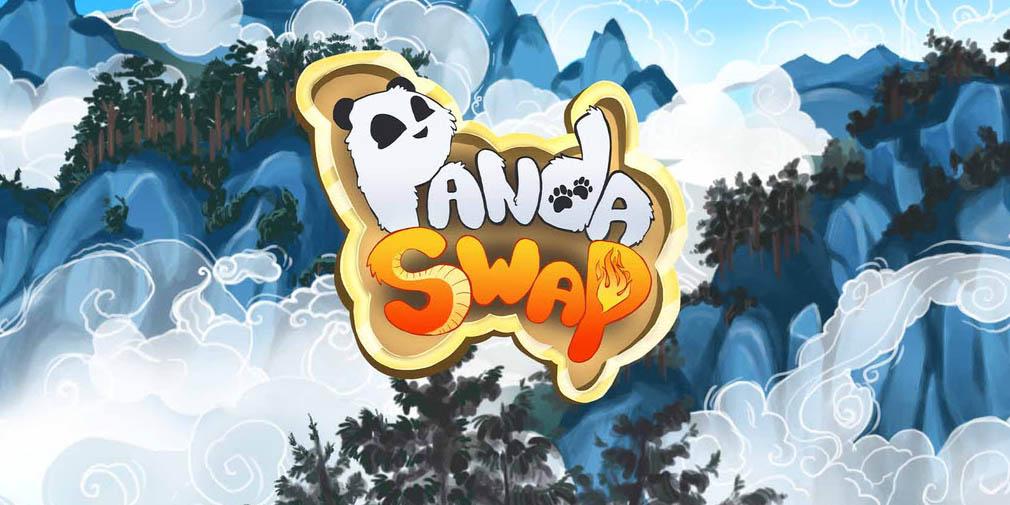 Venez en aide à un adorable panda et à son ami dragon dans Panda Swap, puzzle game disponible sur mobiles