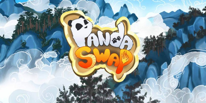 Panda Swap is a unique match-3 where you can rotate the grid for a different view, out now for iOS and Android
