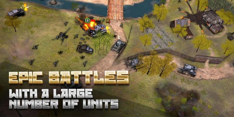 Second World War, Appscraft's massive real-time strategy war game, is out now for Android