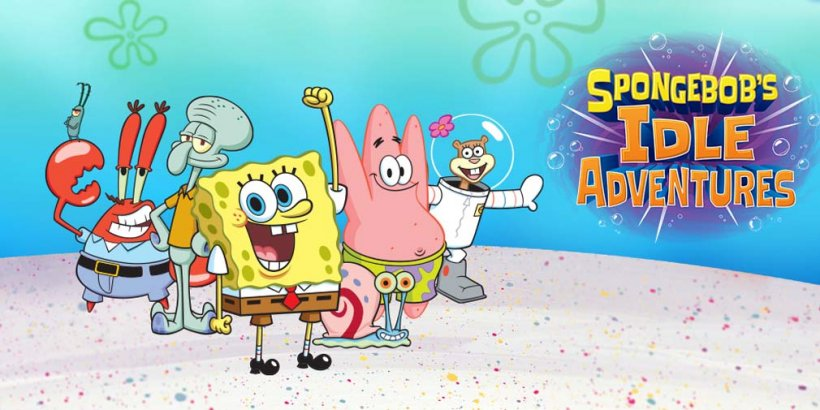 SpongeBob's Idle Adventures revisits the show's favourite locations in an alternate dimension, heading for iOS and Android this summer