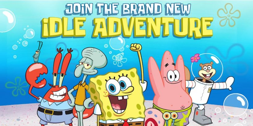 SpongeBob's Idle Adventures, the idle sim where you travel through an alternate Bikini Bottom, is out now on iOS and Android