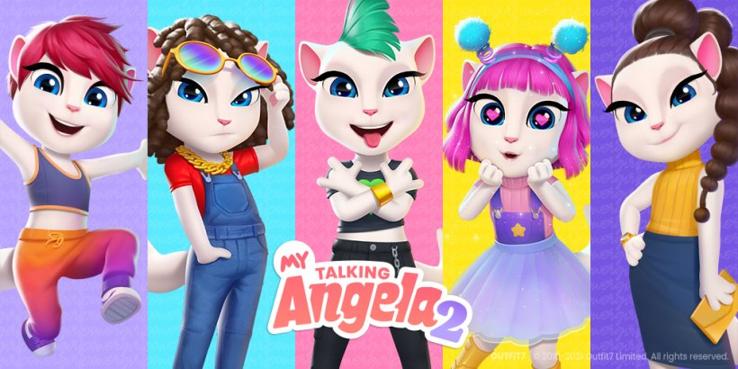 My Talking Angela 2 gains more best buds as Outfit7's virtual pet sim soars past 24 million downloads
