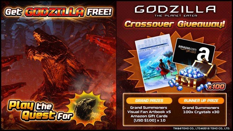 Godzilla GiveLab campaign