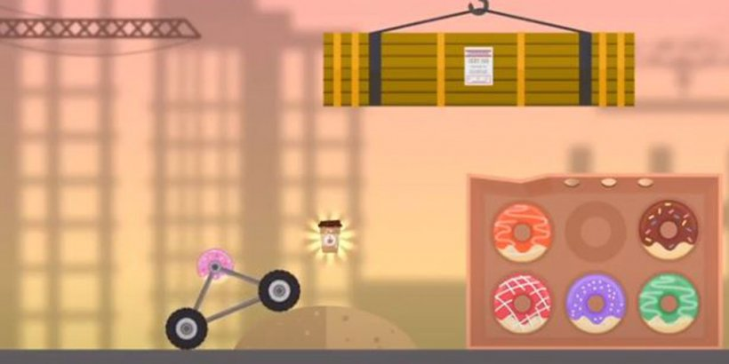 Componut is a 2D physics puzzle game where you rescue (or recapture) an escaped donut, coming soon to Android and iOS