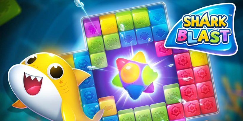 Shark Blast is a fun Baby Shark-inspired puzzle game out now for iOS and Android