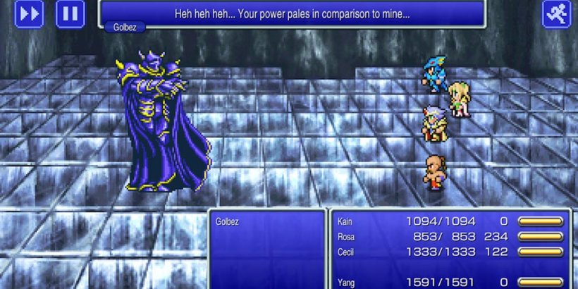 Final Fantasy IV, the latest addition to the Final Fantasy Pixel Remaster series, is out now on iOS and Android
