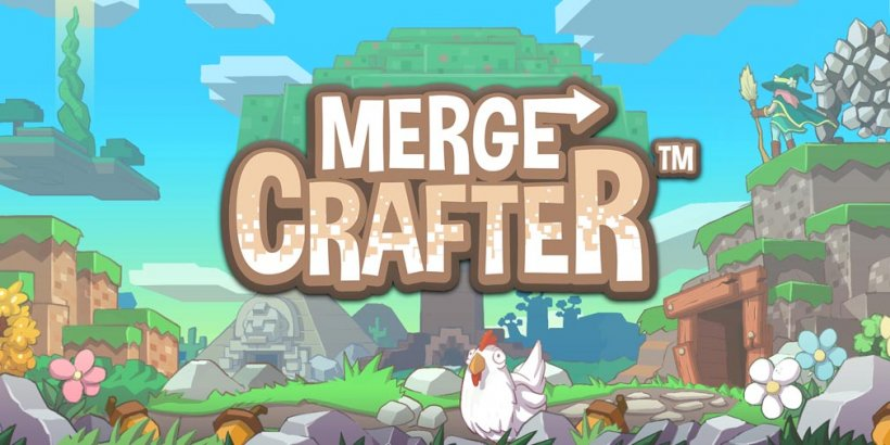 MergeCrafter is a crafting tycoon game with merging elements out now on Android, with pre-orders open for iOS