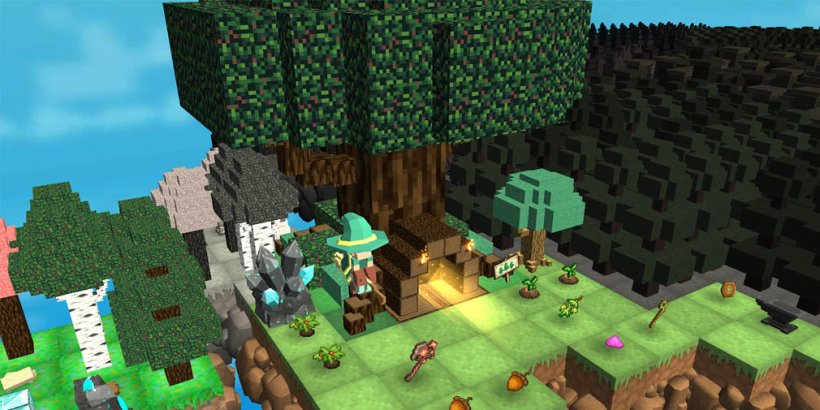 MergeCrafter's pixel art puzzle adventure is out now on iOS and Android
