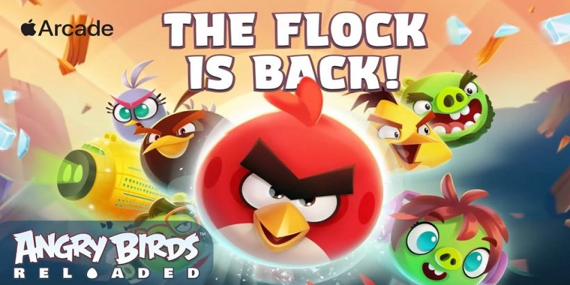 Angry Birds Reloaded and Alto's Odyssey: The Lost City, two revamped classics, are available now on Apple Arcade