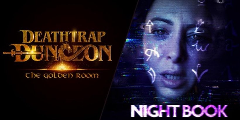 Wales Interactive announces trailers and playable demos for FMV games Deathtrap Dungeon: The Golden Room and Night Book