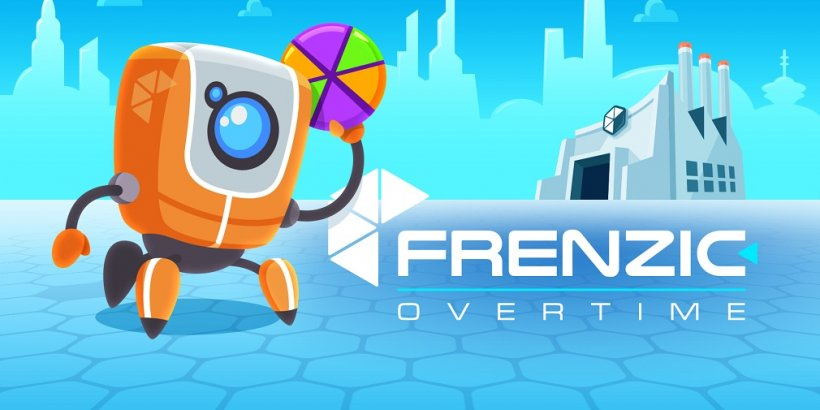 Frenzic: Overtime is a fast-paced arcade game out now on Apple Arcade