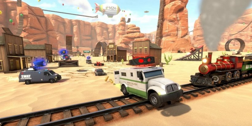 Crash Drive 3 launches on iOS and Android on 8th July