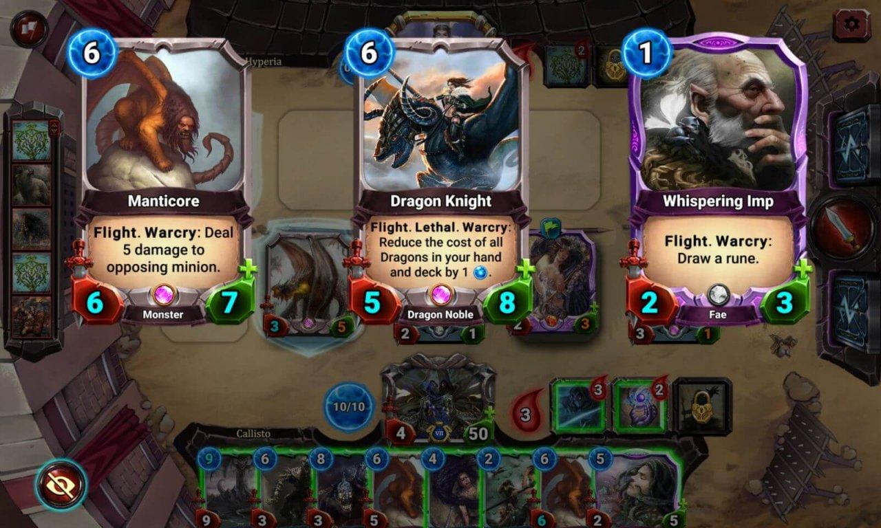 Runestricke deck