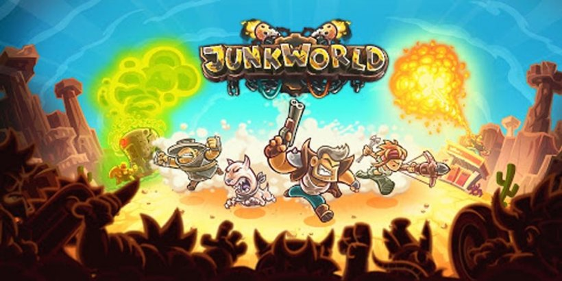 Junkworld, the new tower defense game from Ironhide Game Studio, is now on soft launch on Google Play