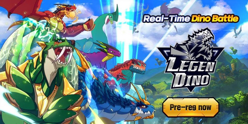 Legendino: Dinosaur Battle lets you collect and evolve dinos for battle, now open for pre-registration