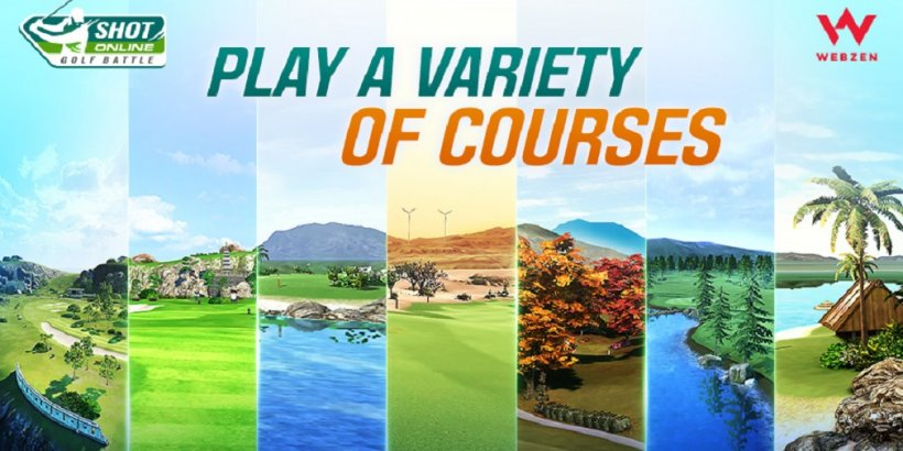Shot Online: Golf Battle has now launched in the U.S. for iOS and Android