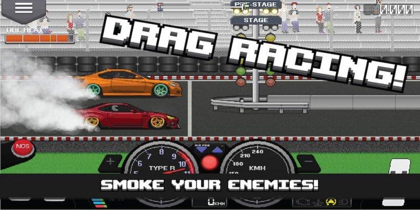 Pixel Car Racer. Самая быстрая машина, как настроить и многое другое