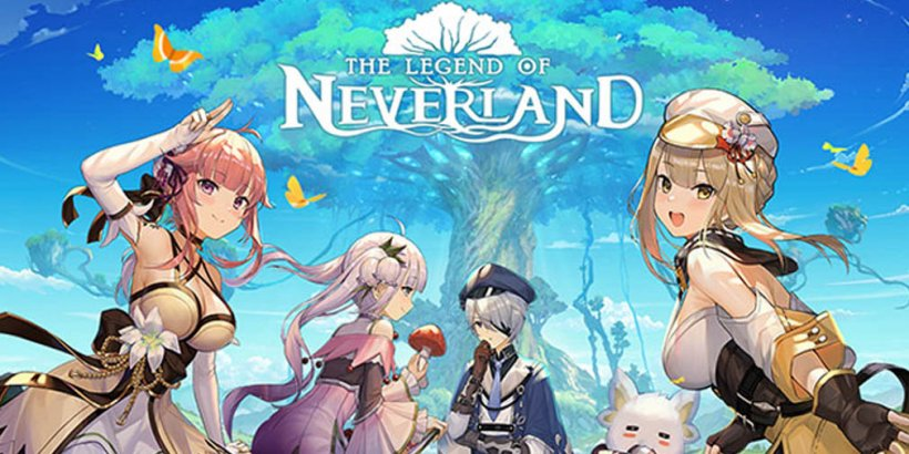The Legend of Neverland is a new JRPG for fans of Genshin Impact, out now on iOS and Android