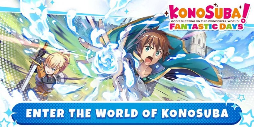 Konosuba: Fantastic Days is giving away actual figurines of fan-fave characters during its pre-registration event