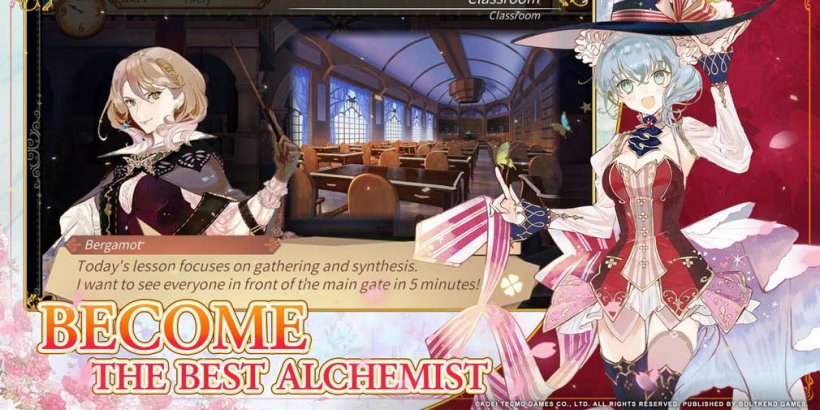 Atelier Online: Alchemist of Bressisle is the latest title from the hit long-running franchise, out now on iOS and Android