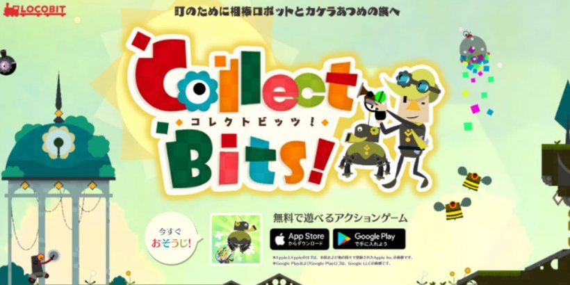 Collect Bits is a 2D platformer that lets you collect fragments and throw your robotic doggo at foes, out now on iOS and Android