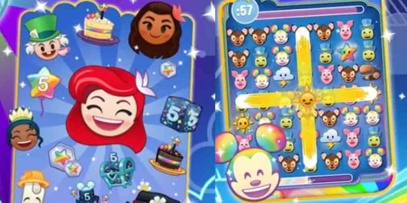 Disney Emoji Blitz holds virtual birthday event for first 1,000 fans to celebrate 40M downloads