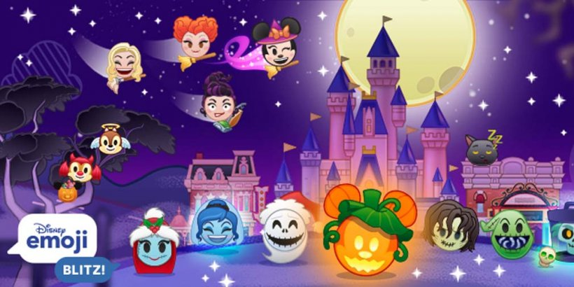Disney Emoji Blitz brings haunted Halloween fun to the match-3 game with limited-time in-game events
