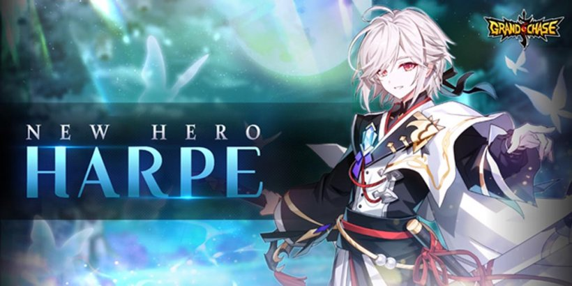GrandChase adds SR 5 Star Hero Harpe to the mobile JRPG as a pre-registration reward