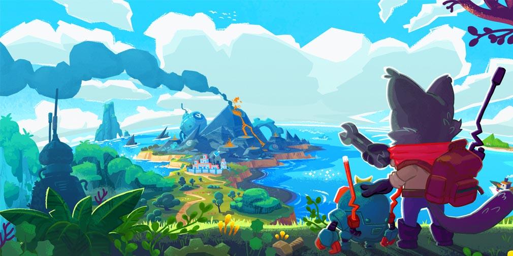 Botworld Adventure, développé par le studio derrière Rodeo Stampede, est de sortie sur mobiles