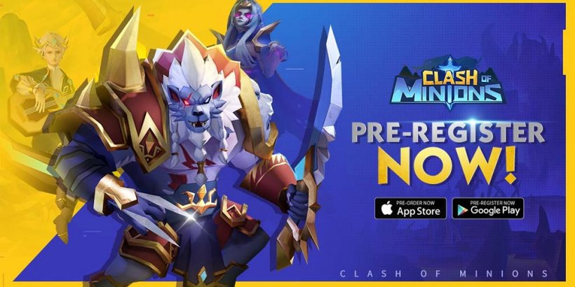 Clash of Minions is an upcoming idle RPG from IGG that's now open for pre-registration