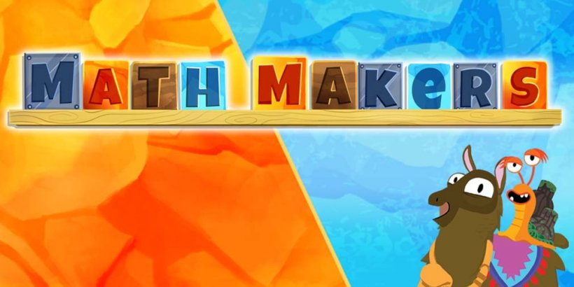 Math Makers teaches kids math through colourful puzzles, out now on iOS and Android