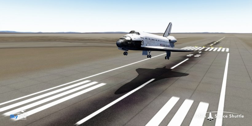 F-Sim Space Shuttle 2 is a realistic flight simulator that's launching on iOS in early August