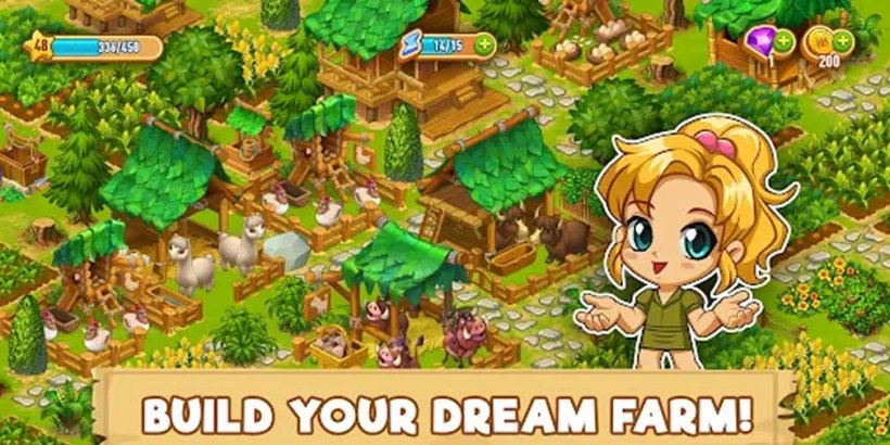 Chibi Island is a cute farming and adventure game that's out now on Android and iOS