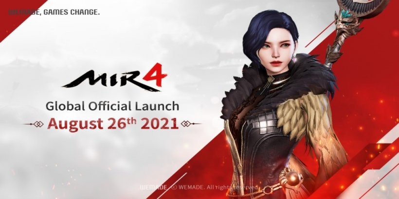 MIR4, the open-world K-Fantasy MMORPG, is launching in late August for Android and iOS devices