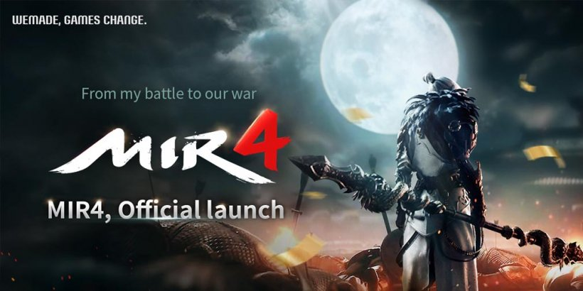 MIR4 is a new MMORPG out today, with an official trailer that explains its blockchain technology