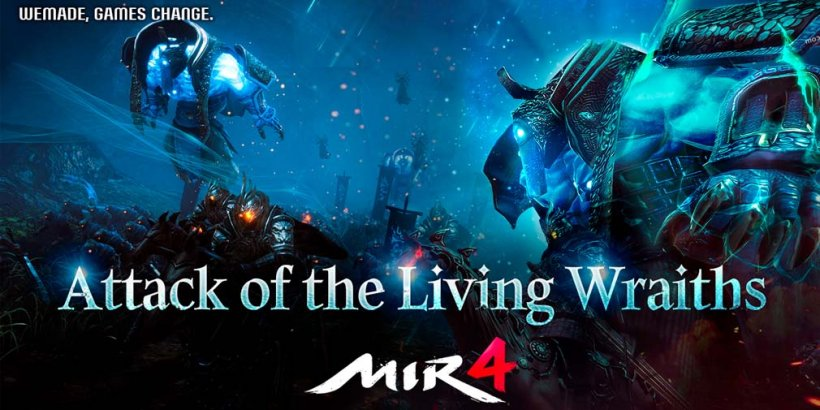 MIR4 introduces Attack of the Living Wraiths and new Raid dungeons in latest update