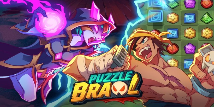 Puzzle Brawl, Skyborne's new match-3 PvP game, launches worldwide on 8th August