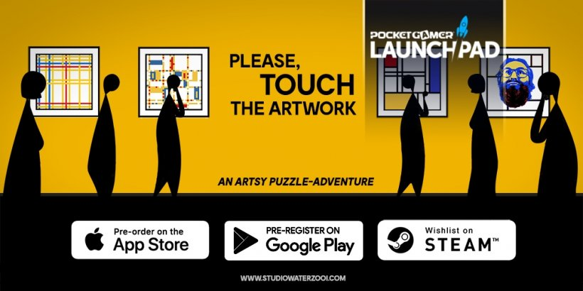 Tune into LaunchPad #5 to learn more about puzzler Please, Touch The Artwork