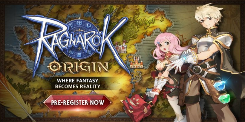 Ragnarok Origin, Gravity's fantasy MMORPG, is officially open for pre-registration on Android and iOS devices
