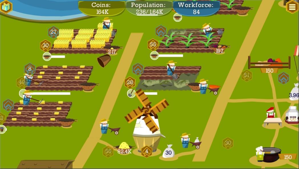 Farm and Mine