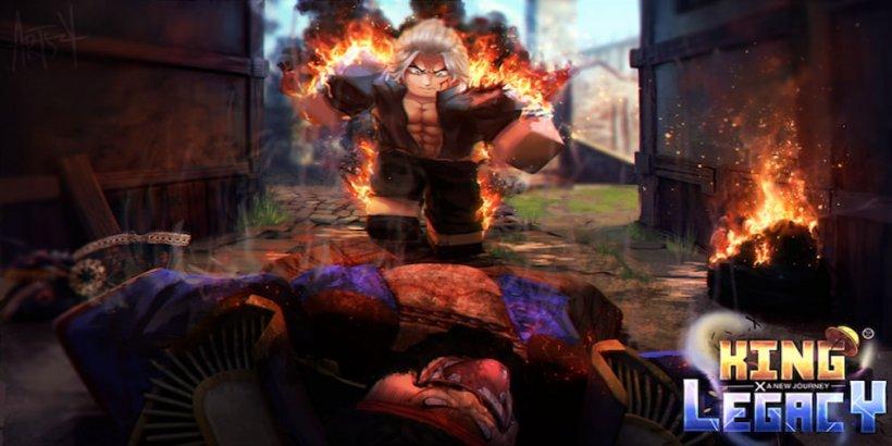 King Legacy codes burning character