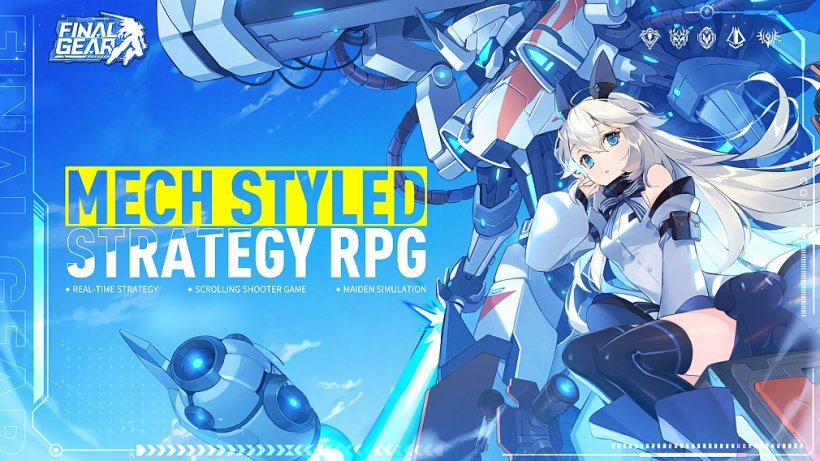 Final Gear lets you lead female pilots in cool mechs to battle, now open for pre-orders on iOS and Android