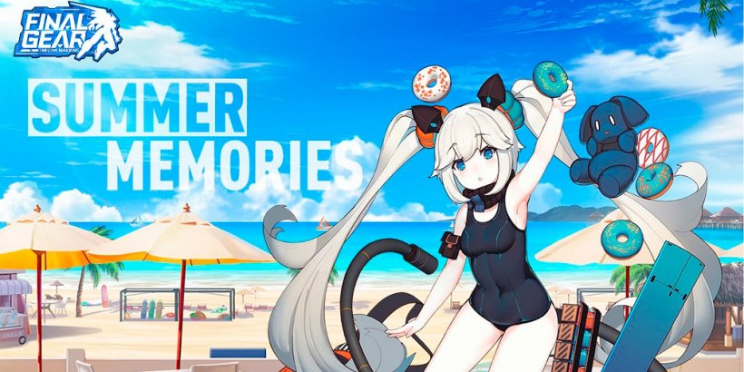 """Final Gear adds """"Swimsuit Pilots"""" skins and SSR rate-ups in Summer Memories event"""
