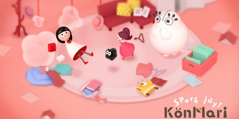 Spark Joy! lets players share the joy of tidying using the KonMari Method in a storybook puzzle game, out now on iOS and Android