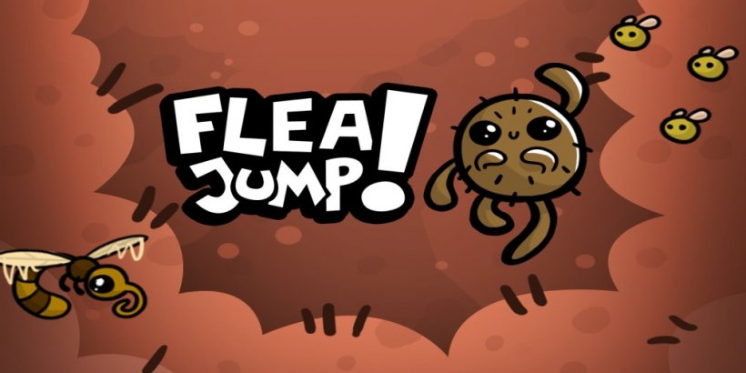 Flea Jump! is an endless jumper that's launching this week for iOS and Android devices