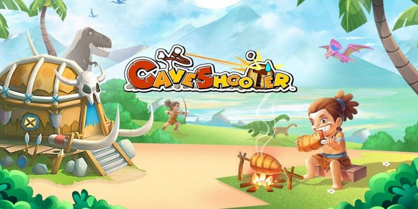 Cave Shooter is an idle shooting game that has just been released for Android and iOS