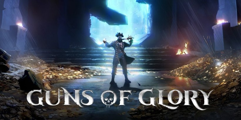Guns of Glory is celebrating its 4th anniversary with a boatload of pirate-themed events