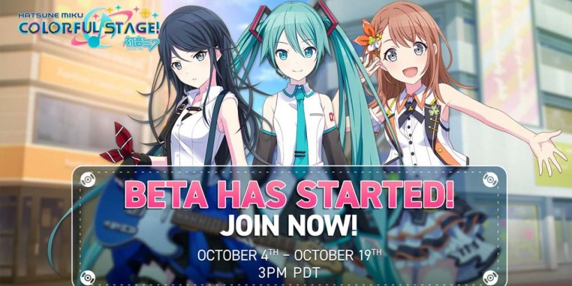 Hatsune Miku: COLORFUL STAGE! is now open for public beta for both iOS and Android devices